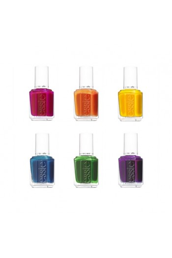 Essie Nail Lacquer - Glazed Days Spring 2019 Collection - All 6 Colors - 13.5ml / 0.46oz each