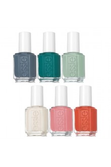 Essie Spring 2018 Collection Nail Lacquer - All 6 Colors - 13.5 mL / 0.46 fl oz each