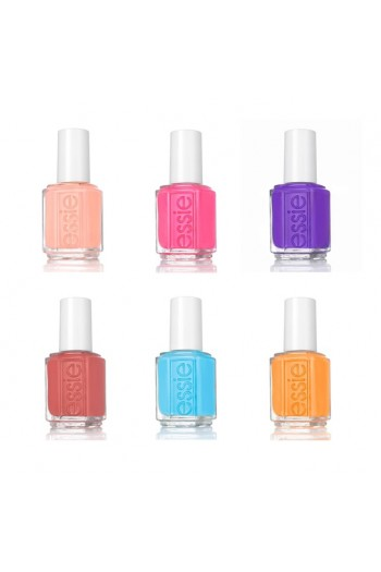 Essie Nail Lacquer - Summer 2019 Collection - All 6 Colors - 13.5ml / 0.46oz Each