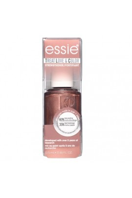 Essie Treatments - Treat Love & Color Strengthener - Metallics 2019 Collection - Finish Line Fuel - 13.5 mL / 0.46 oz