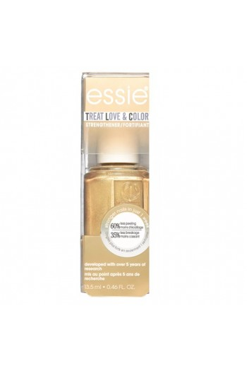 Essie Treatments - Treat Love & Color Strengthener - Metallics 2019 Collection - Got It Golding On - 13.5 mL / 0.46 oz