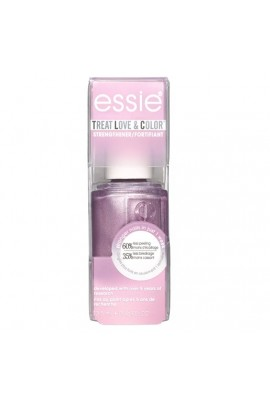 Essie Treatments - Treat Love & Color Strengthener - Metallics 2019 Collection - Laced Up Lilac - 13.5 mL / 0.46 oz