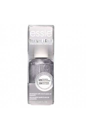 Essie Treatments - Treat Love & Color Strengthener - Metallics 2019 Collection - Steel the Lead - 13.5 mL / 0.46 oz