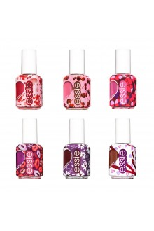 Essie Nail Lacquer - Valentine's Day 2020 Collection - All 6 Colors - 13.5ml / 0.46oz Each