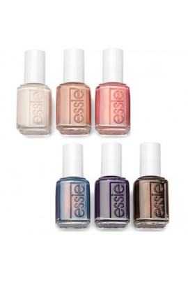 Essie Desert Mirage Collection Nail Lacquer - All 6 Colors - 13.5 mL / 0.46 fl oz each