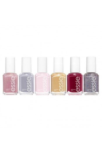 Essie Nail Lacquer - #EssieLove Moments Collection 2019  - ALL 6 Colors - 13.5 mL / 0.46 oz