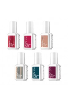 Essie Gel Polish - Winter 2017 Collection - All 6 Colors - 12.5 mL / 0.42 oz Each