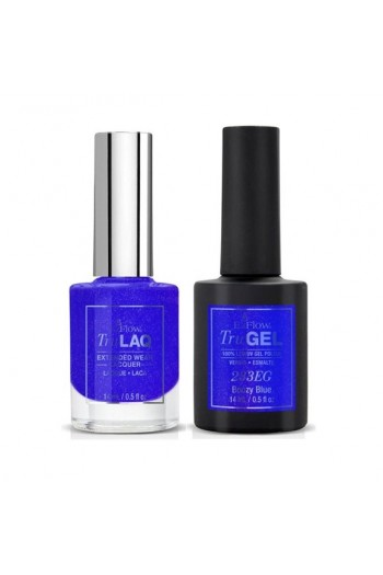 EzFlow Color Duos - LAQ & GEL - Boozy Blue 233ED - 14ml / 0.5oz