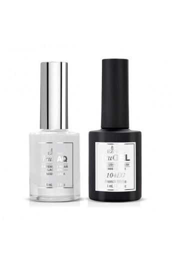EzFlow Color Duos - LAQ & GEL - French White 104ED - 14ml / 0.5oz Each