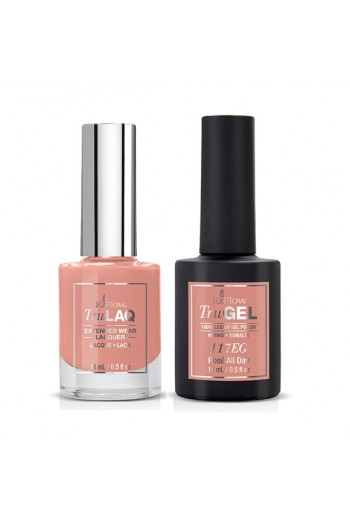 EzFlow Color Duos - LAQ & GEL - Rosé All Day 117ED - 14ml / 0.5oz