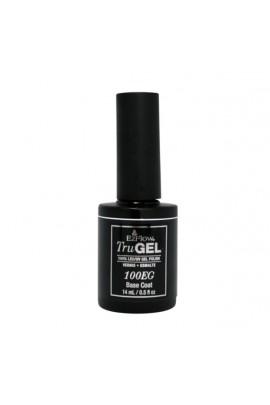 EzFlow TruGel LED/UV Gel Polish - 100EG Base Coat - 0.5oz / 14ml