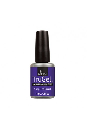 EzFlow TruGel LED/UV Polish - The 90's Recollection Collection - Crop Top Secret - 14ml / 0.5oz