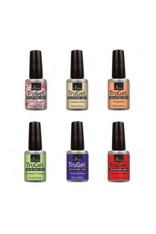 EzFlow TruGel LED/UV Polish - The 90's Recollection Collection - All 6 Colors - 14ml / 0.5oz Each