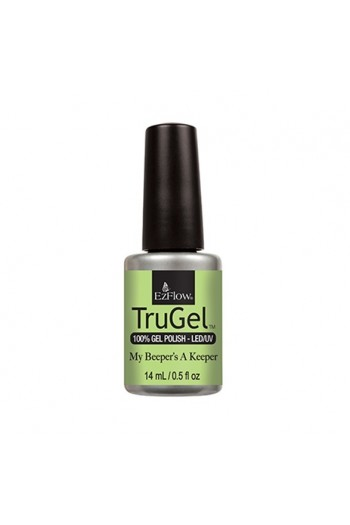 EzFlow TruGel LED/UV Polish - The 90's Recollection Collection - My Beeper's A Keeper - 14ml / 0.5oz