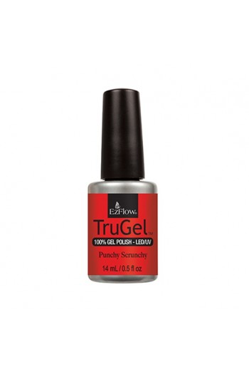 EzFlow TruGel LED/UV Polish - The 90's Recollection Collection - Punchy Scrunchy - 14ml/0.5oz