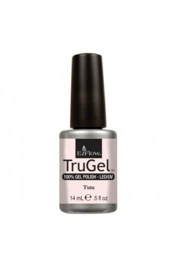 EzFlow TruGel LED/UV Gel Polish - Tutu - 0.5oz / 14ml