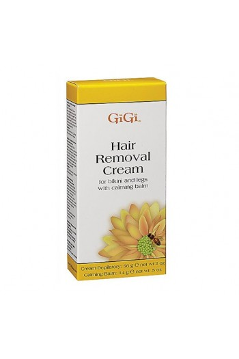 GiGi - Hair Removal Cream - For Bikini and Legs - 14 g / 0.5 oz