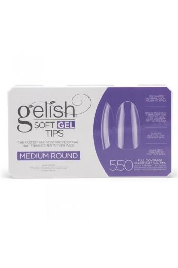 Harmony Gelish - Soft Gel Tips - Medium Round - 550 Tips