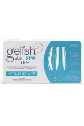 Harmony Gelish - Soft Gel Tips - Medium Square - 550 Tips