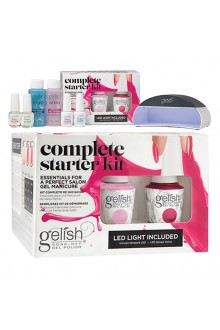 Harmony Gelish - Complete Starter Kit - Includes On-the-Go LED Light