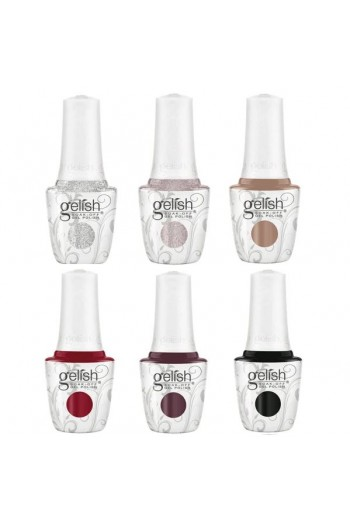 Harmony Gelish – Shake Up The Magic! Collection – All 6 Colors – 15ml / 0.5oz Each