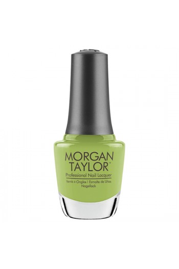 Morgan Taylor Nail Lacquer - Feel The Vibes Collection - Into The Lime-Light - 15ml / 0.5oz
