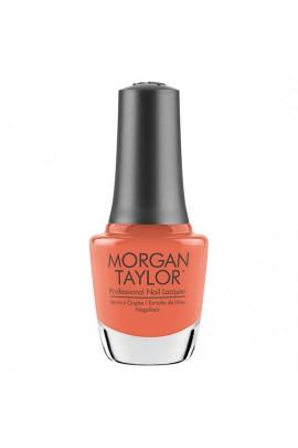 Morgan Taylor Nail Lacquer - Feel The Vibes Collection - Orange Crush Blush - 15ml / 0.5oz