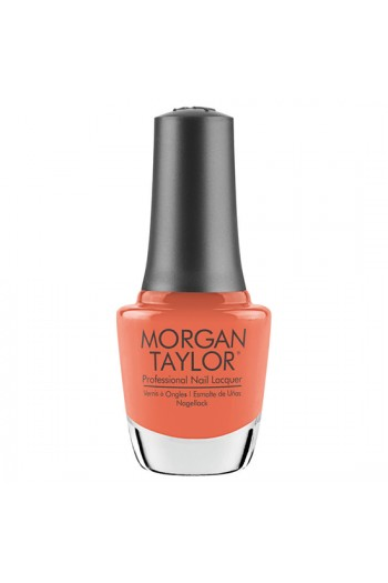 Morgan Taylor Nail Lacquer - Feel The Vibes Collection - Orange Crush Blush - 15ml / 0.5oz