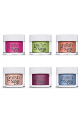 Harmony Gelish - XPRESS Dip Powder - Feel The Vibes Collection - All 6 Colors - 43g / 1.5oz Each