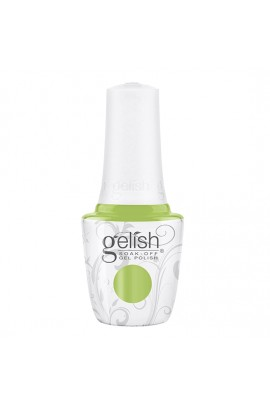 Harmony Gelish - Soak-Off Gel Polish - Feel The Vibes Collection - Into The Lime-Light - 15ml / 0.5oz