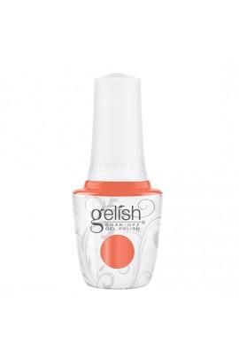 Harmony Gelish - Soak-Off Gel Polish - Feel The Vibes Collection - Orange Crush Blush - 15ml / 0.5oz