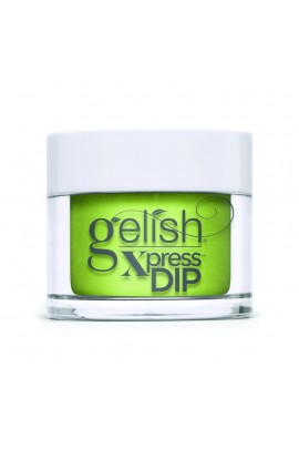 Harmony Gelish - XPRESS Dip Powder - Feel The Vibes Collection - Into The Lime-Light - 43g / 1.5oz