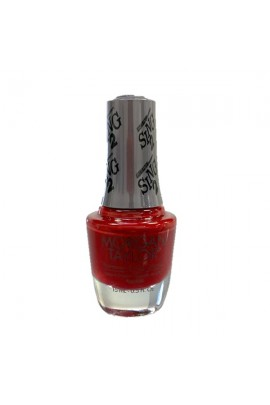 Morgan Taylor Nail Lacquer - Sing 2 Collection - Red Shore City Rouge - 15ml / 0.5oz