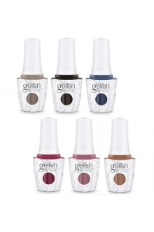 Harmony Gelish Soak-Off Gel - African Safari Collection - All 6 Colors - 15 ml / 05 oz Each