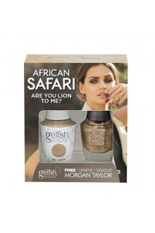 Gelish - Two of a Kind - African Safari Collection - Are You Lion To Me?