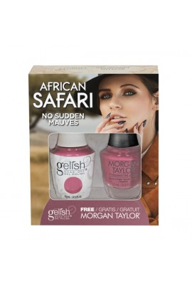 Gelish - Two of a Kind - African Safari Collection - No Sudden Mauves