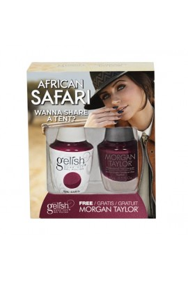 Gelish - Two of a Kind - African Safari Collection - Wanna Share a Tent?