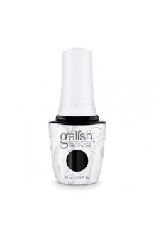 Nail Harmony Gelish - Black Shadow - 0.5oz / 15ml