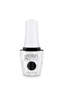 Nail Harmony Gelish - Black Shadow - 0.5oz / 15ml