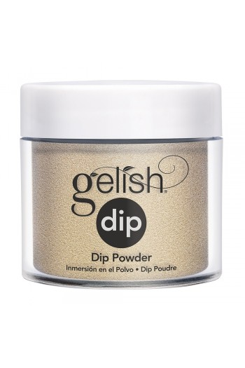 Harmony Gelish - Dip Powder - Champagne & Moonbeams 2019 Collection - Gilded in Gold - 23g / 0.8oz