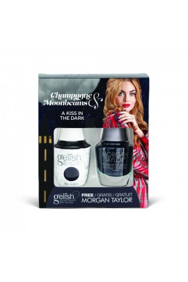 Harmony Gelish - Two of a Kind - Champagne & Moonbeams 2019 Collection - A Kiss in the Dark - 15ml / 0.5oz