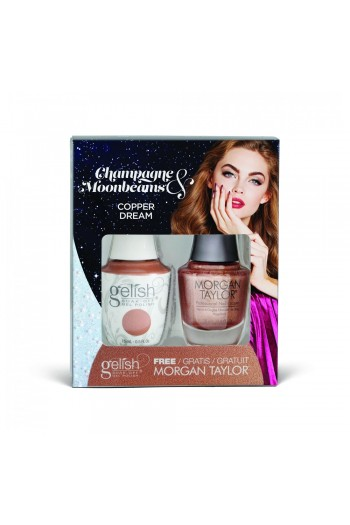 Harmony Gelish - Two of a Kind - Champagne & Moonbeams 2019 Collection - Copper Dream - 15ml / 0.5oz