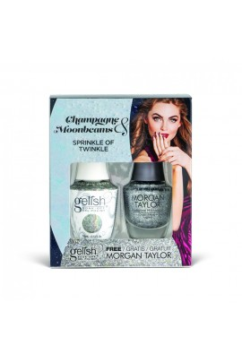 Harmony Gelish - Two of a Kind - Champagne & Moonbeams 2019 Collection - Sprinkle of Twinkle - 15ml / 0.5oz