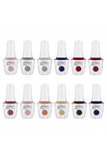 Harmony Gelish - Champagne & Moonbeams Winter 2019 Collection - All 12 Colors - 15ml / 0.5oz Each