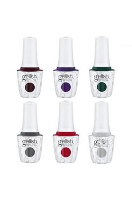 Harmony Gelish - Soak-Off Gel Polish – Disney Villains Collection – All 6 Colors – 15ml / 0.5oz Each