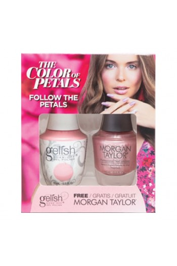 Harmony Gelish - Two Of A Kind - The Color Of Petals - Follow The Petals - 15 mL / 0.5 Oz