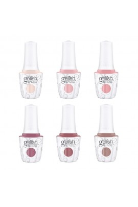 Harmony Gelish - Editor's Picks 2020 Collection - All 6 Colors - 15ml / 0.5oz Each