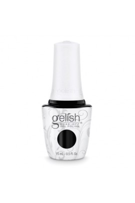 Nail Harmony Gelish - 2017 New Cap/Bottle Design - Black Shadow - 0.5oz / 15ml