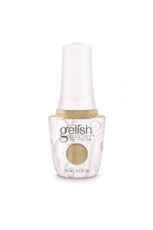 Nail Harmony Gelish - 2017 New Cap/Bottle Design - Give Me Gold - 0.5oz / 15ml