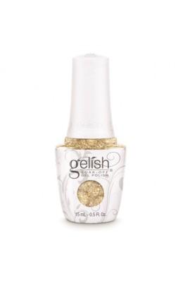 Nail Harmony Gelish - 2017 New Cap/Bottle Design - Golden Treasure - 0.5oz / 15ml